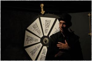 Timing, un spectacle avec une roue